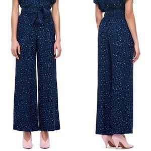 Rebecca Taylor | high rise speckle dot silk pants